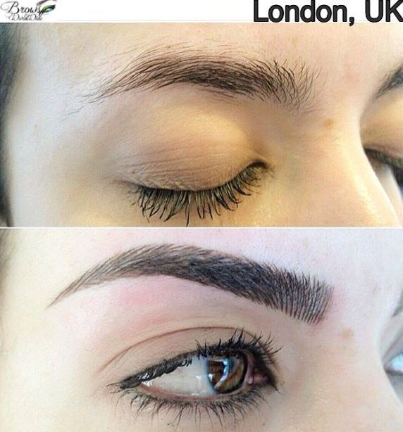 39 best microblading images on pinterest permanent for How is microblading different to tattooing