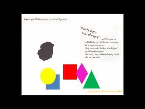 Kloddertje - naar het boek van Lionel de Néouanic - thema #kleur en #vorm