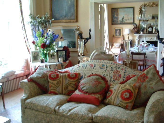 Princess diana 39 s drawing room apartment 1a kensington for Nottingham cottage interior