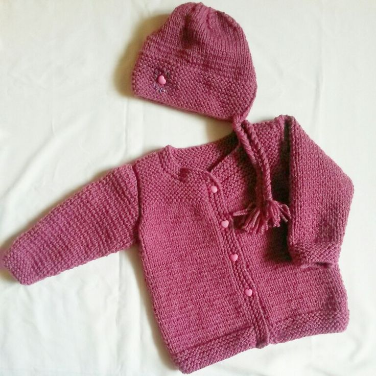 Jacket and cap for sweet girl
