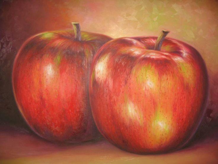 manzanas modernas pinturas - Buscar con Google