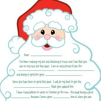 17 best ideas about santa letter on pinterest santa real letter explaining santa and christmas letters