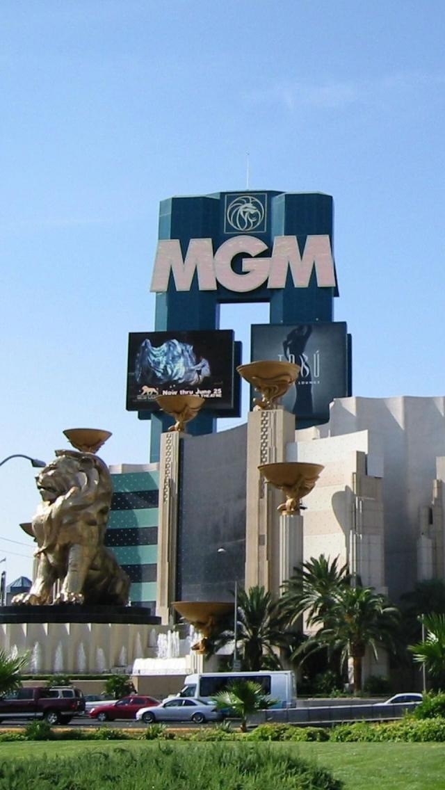 Mgm Grand, Luxury Hotel, Las Vegas, Nevada, United States. Fall 2015