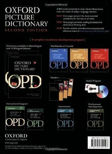 Oxford Picture Dictionary English-Vietnamese: Bilingual Dictionary for Vietnamese speaking teenage and adult students of English (Oxford Pic