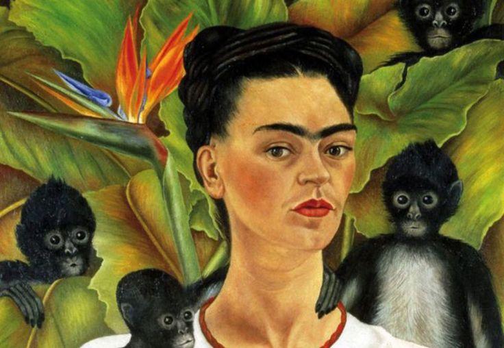 frida kahlo autoritratto con scimmie - Palazzo Albergati ospita Frida Kahlo Oficial e gli artisti messicani del XX secolo nella mostra intitolata La Collezione Gelman: l'Arte Messicana del XX secolo. Autoritratti, disegni e fotografie della pittrice. Se volete saperne di più, venite su #TATs!