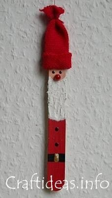 Popsicle stick Christmas crafts!