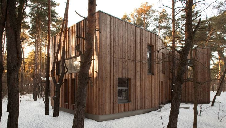 Minimalistische Häuser von ANONIMOWI ARCHITEKCI
