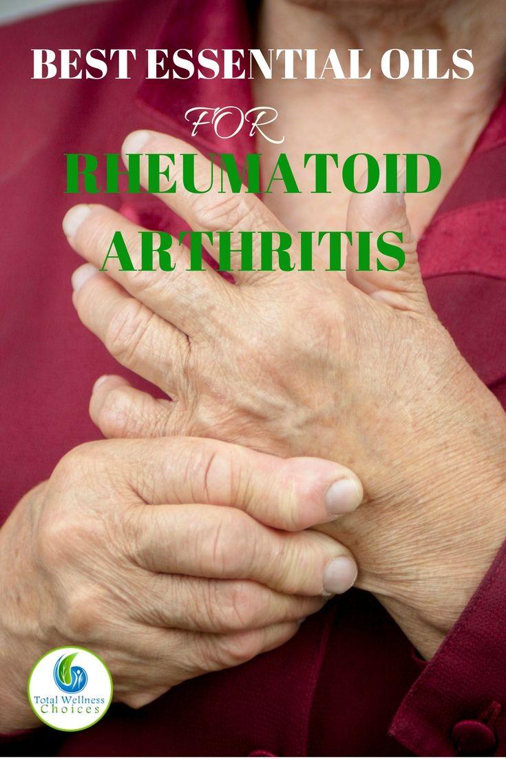 11 Best Essential Oils for Rheumatoid Arthritis via @wellnesscarol