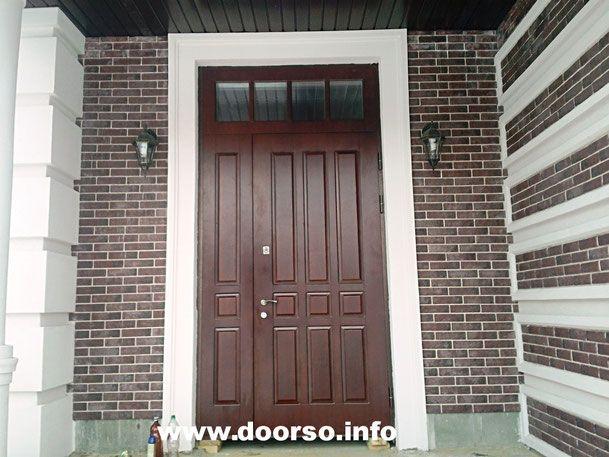 Входные металлические двери нестандартных размеров.