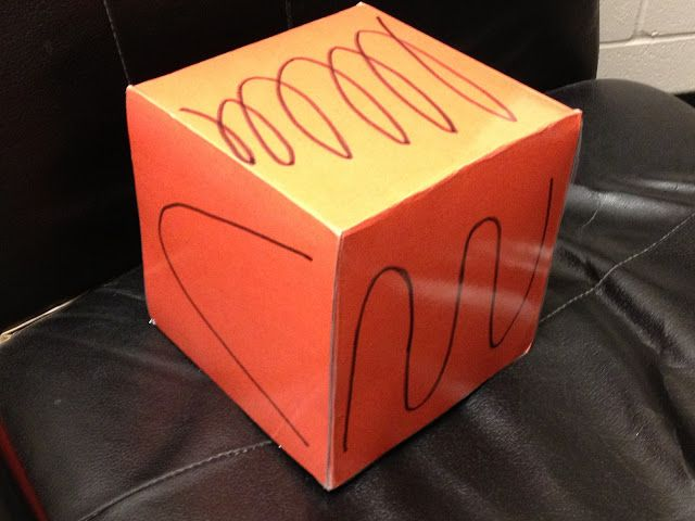 Twist on the usual vocal exploration warm-ups - Make a Sound Cube!