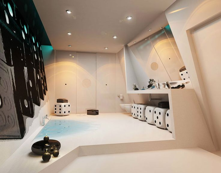bagno di lusso moderno 05