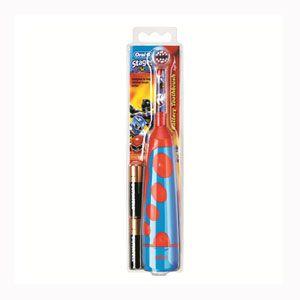 Periuta de dinti electrica Oral B D2012 special realizata pentru copii - baieti. Periuta pentru copii are peri ultra moi, care ofera o curatare a dintilor la fel de blanda ca cea a periutelor manuale.