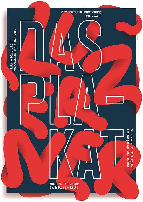 Typeverything.com - Das Luzeren Plakat by Josh Schaub.