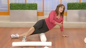 Use the foam roller for myofascial release, tight muscles, adhesions. Can use it to exercise as well,SPRI is a good brand
