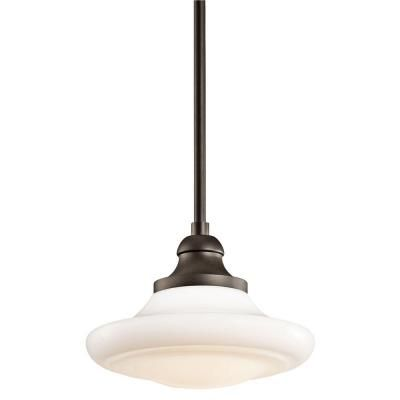 off keller olde bronze pendant by kichler canopy 5 diameter comes with two 6 and two 12 inch down rods can be converted into a semi flush fixture that