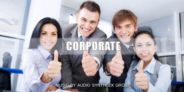 Our new background MUSIC for your PROJECTS! - Corporate Happy  Corporate Happy First of all It's a fresh inspirational and motivating track for your media projects. Very light and positive song, that brings a good feelings to yours projects.  Good suitable for: background music, tv, commercials, advertising, corporate videos, presentations, any slideshows, web videos, makings of, info-graphics, documentaries, featurettes, photography production, happy family commerc