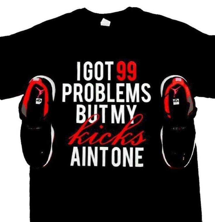 Shirt to Match Air Jordan Shoes - Retro 10 Retro 11 Retro 12 Urban Hip Hop
