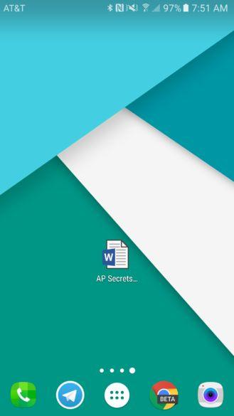 Aplicativos Office para Android agora permitem adicionar atalho à tela inicial