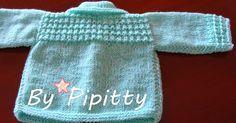Há tempos encontrei a receita deste casaquinho no site TRICOTEIRAS SEM FRONTEIRAS (http://tricoteirassemfronteiras.blogspot.com.br/2011/01/c...