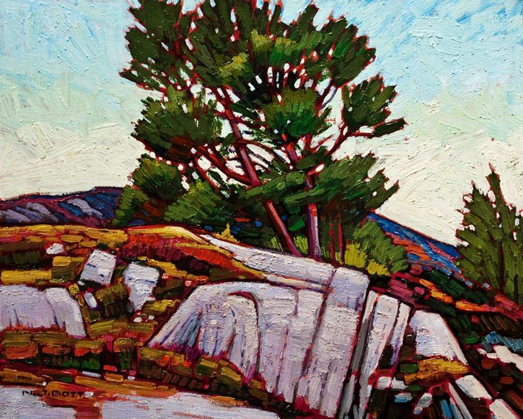 Verdant Trees, by Nicholas Bott