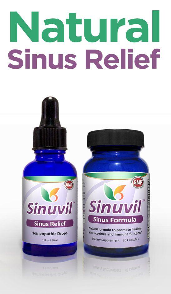 Natural Sinusitis Treatment - Sinuvil