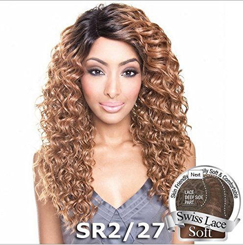 ISIS Brown Sugar Human Hair Blend Soft Swiss Lace Front Wig - BS209 (2 - Drk ... >>> This is an Amazon Affiliate link. You can get more details by clicking on the image.