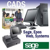 Epos Systems and Software from Sage UK and CADS Ltd, IT Support, Sage Pos / Paypoint / EPOS and ACT CRM from Sage, Line 50, 200, Accounting, Sage Payroll and CRM software available to buy online from CADS Ltd, an authorised reseller. Midlands, Birmingham, Nottingham  https://www.cadsnet.co.uk/