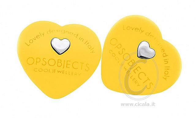 ❤ OPS! Earrings ❤ @ only €28,00 Register NOW on www.cicala.it for discount! Yellow color!