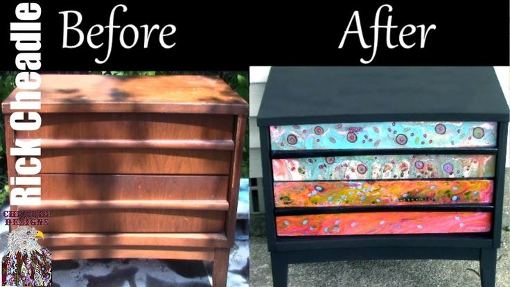 Best 25 Refinished Nightstand Ideas On Pinterest
