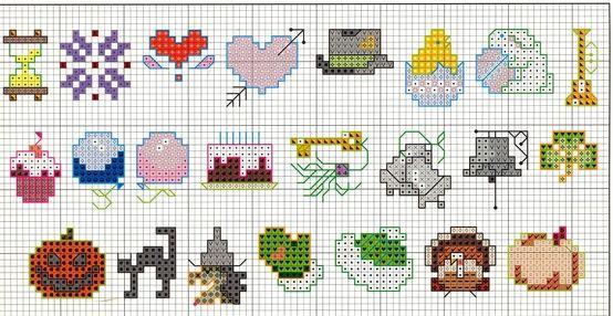 cross stitch pattern chart