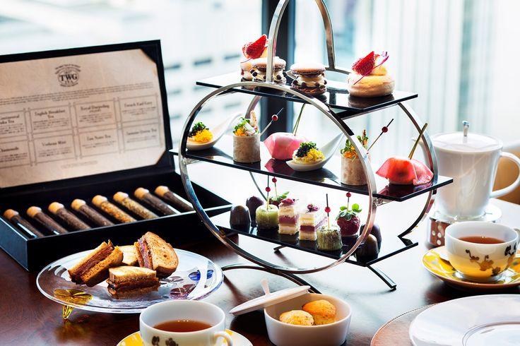 ミシュラン1つ星に輝く「インターコンチネンタルホテル大阪」のレストラン「Pierre」が、土、日、祝日限定で、フレンチスタイルのワンランク上のアフタヌーンティー「Luxe」の提供をスタートした。