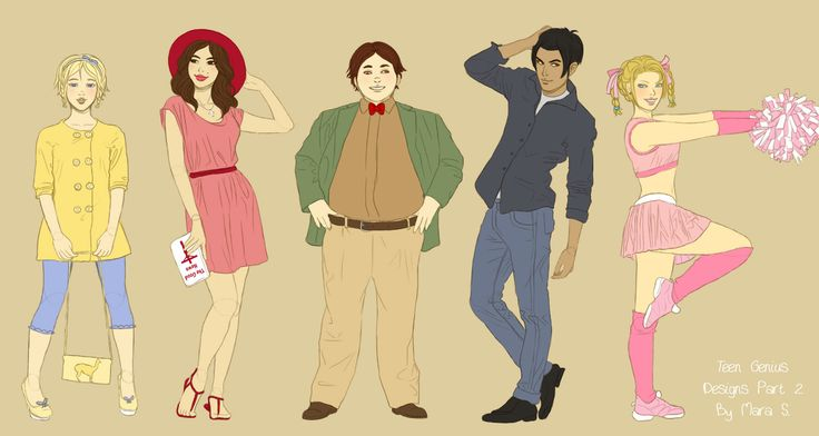 Jimmy Neutron: Teen Genius Designs Part 2 by Acaciathorn.deviantart.com on @deviantART