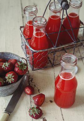Limonade aux fraises, oranges & érable