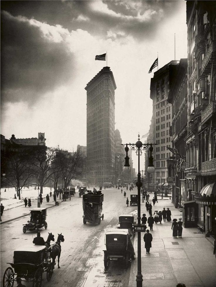 W. W. Rock Flatiron, Madison Square, New York, 1918