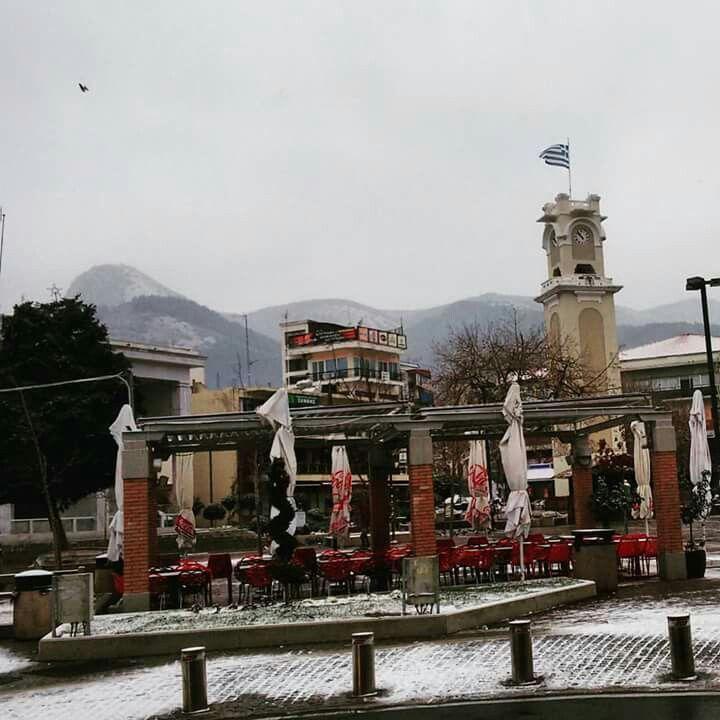 Snow Day. - Xanthi,Greece