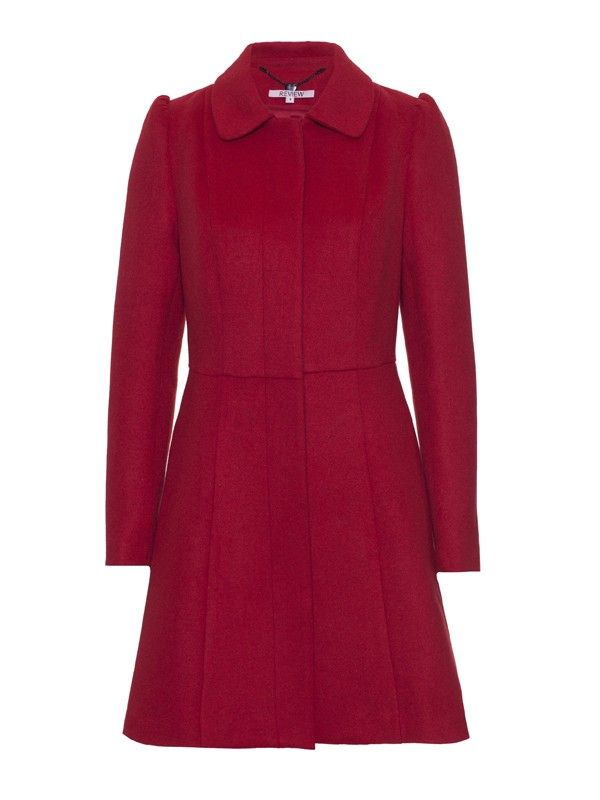 Theodore Coat from Review.  #winterromance #shopcoats #reviewaustralia