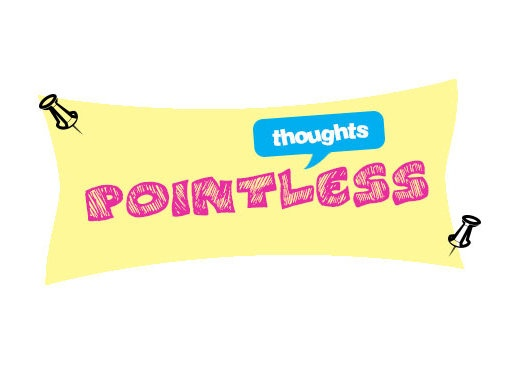 Logo for Pointless Thoughts  check out my design website! (:  http://samtasticdesigns.wix.com/samtasticdesigns