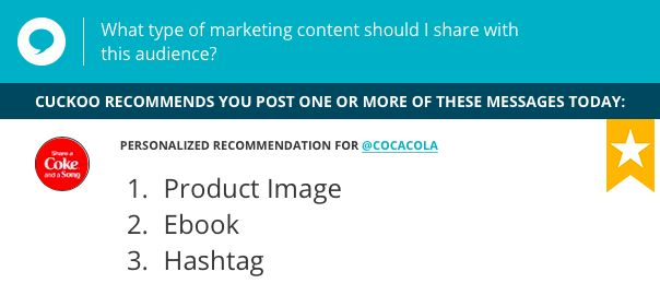 Coca-Cola started the summer season off right with this great underwater product shot! See what content your audience wants to see on Twitter: www.cuckoo.io
