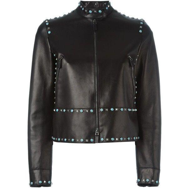 valentino lambskin jacket