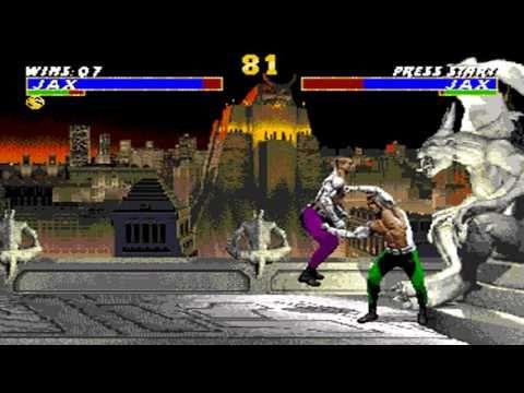 Ultimate Mortal Kombat 3 Jax