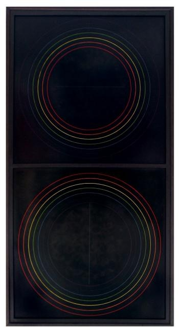 Ralph Hotere - Black Painting No.8