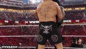 Brock Lesnar vs Roman Reigns @ Wrestlemania 31 (WWE Title)