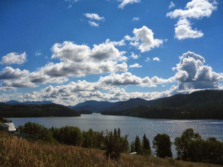 Tur til Canada - British Columbia: 100 Mile House –The Fishing Hwy, på vej til guldgraver ruten