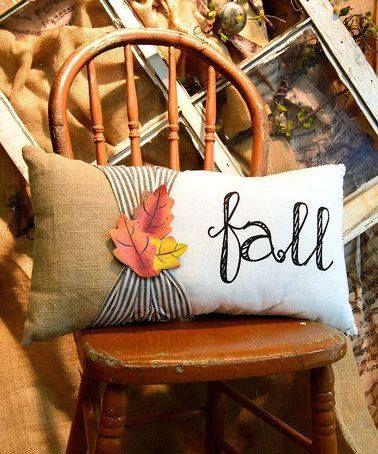 Ідеї виготовлення декоративних осінніх подушок 32 фото
