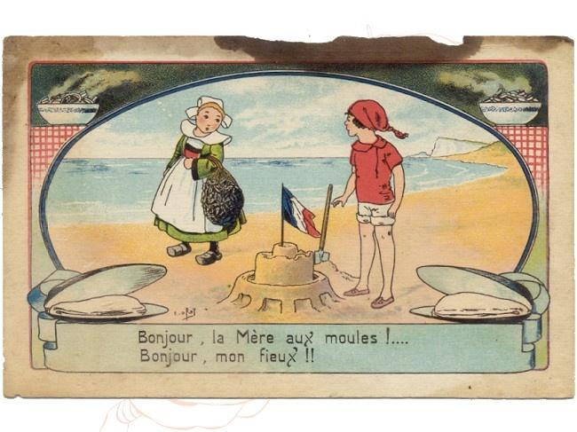 Carte postale éditions Herald