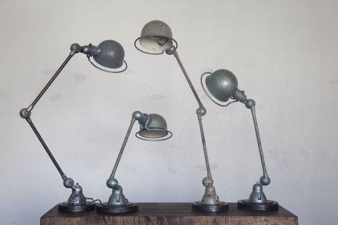 50's Jielde lamps