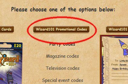 Wizard101 coupon code 2018