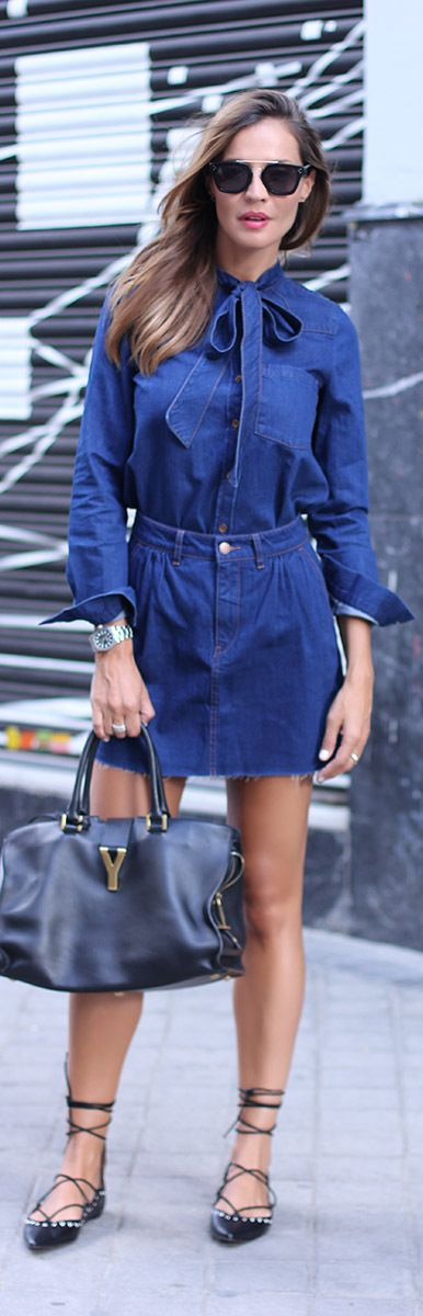 Blue Denim / Fashion By Lady Addict