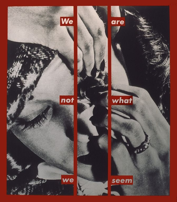 Kruger__0001_barbara__we_are_not_what_we_seem__1988__foto_syb'l_s._pictures