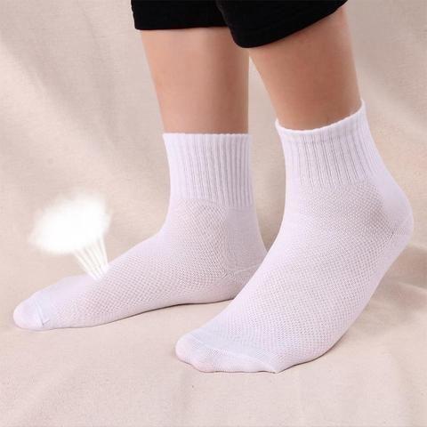 f3980c66fbc3 10Pairs Mens Dress Socks Summer Breathable Mesh Men Casual Socks Classic  Business